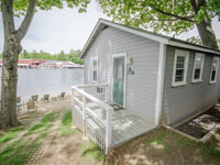 lake winnipesaukee family vacation rental cabin