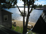 Cottage 7 View of Weirs Beach Channel