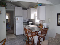 waterfront rental condo Kitchen