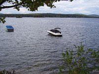 waterfront rental condo on Lake Winnipesaukee